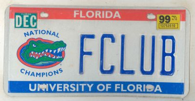 1999 Florida ...  sc 1 th 162 & License plates for sale