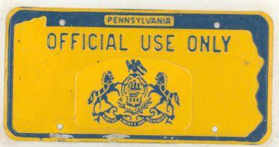 1965 Pennsylvania ...  sc 1 th 163 & License plates for sale