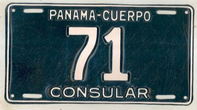 License plates for sale for Consul license