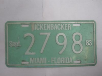Florida license plates for sale